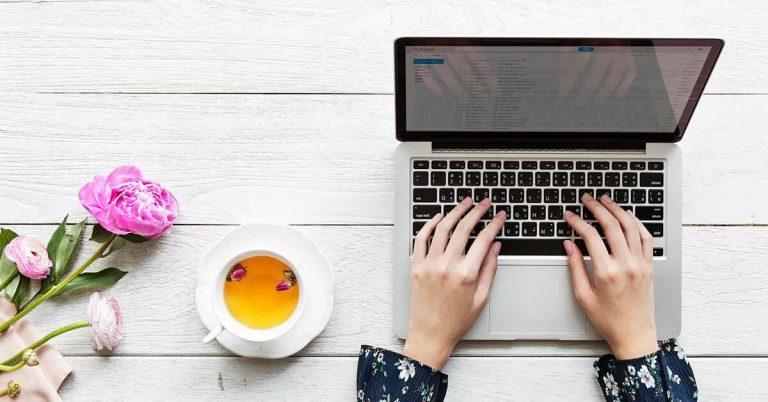 bedrijf bloggen website