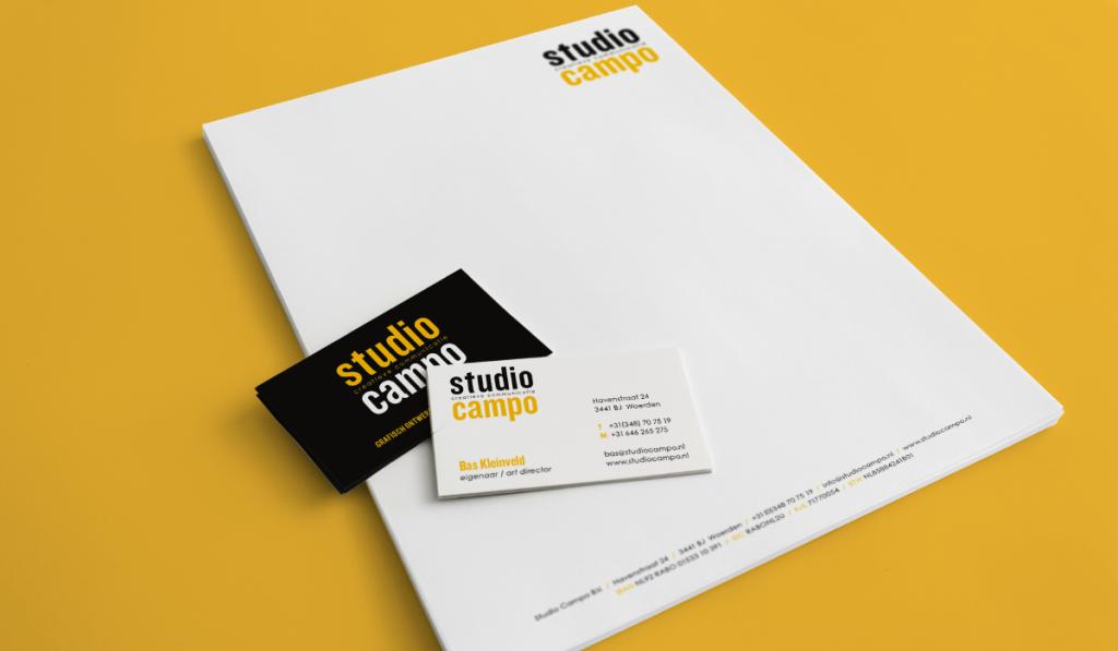 Studio Campo huisstijl ontwerp