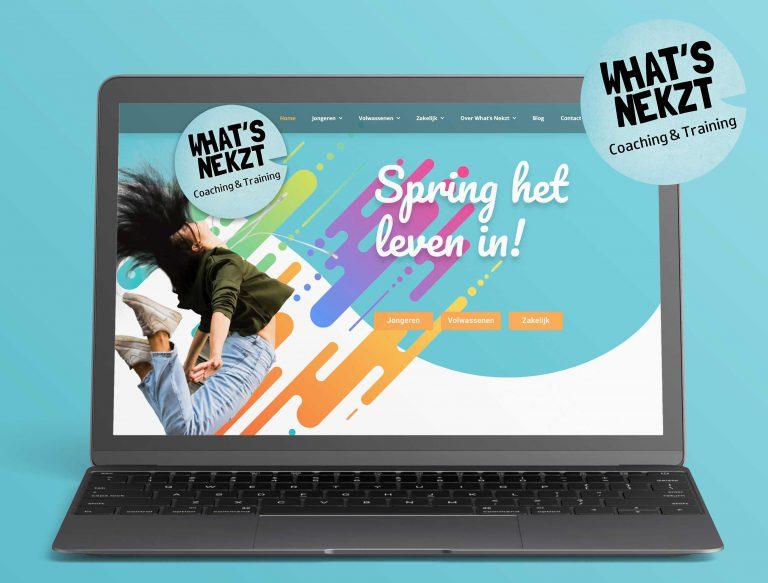 Website design Studio Campo What's Nekzt Woerden