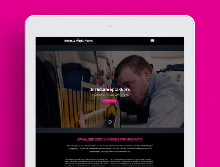 Websitedesign Studio Campo de reclameplakkers Woerden