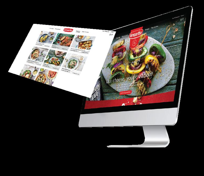Grozette webdesign website ontwikkeeling
