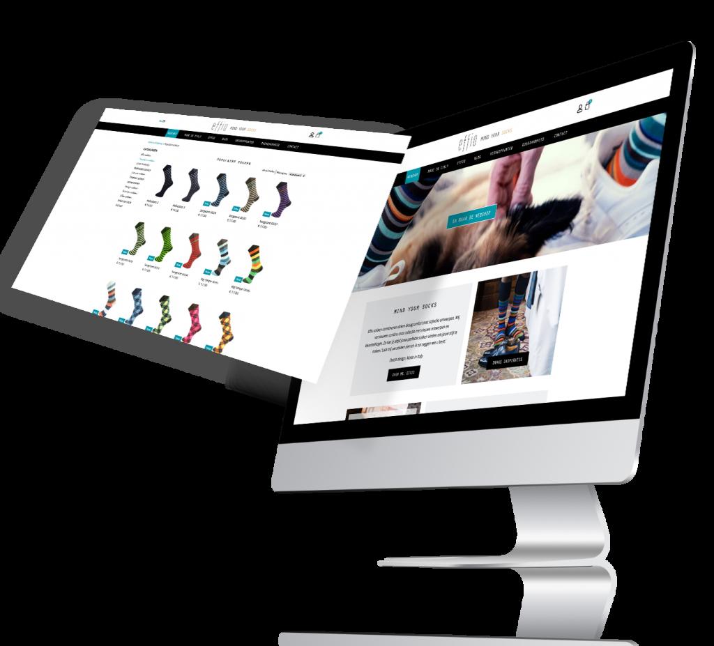 Effio Webshop design