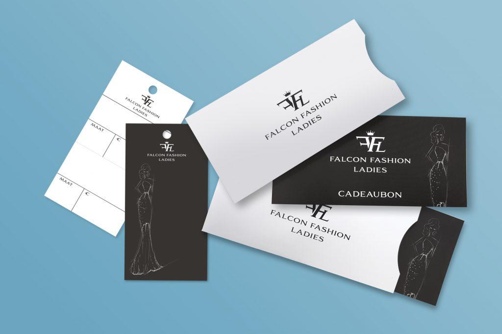 Falcon fashion prijskaartje cadeaubon