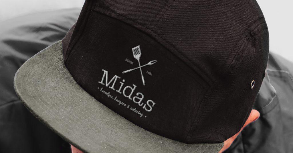 Midas Restaurant Branding Woerden kleding logoo ntwerp