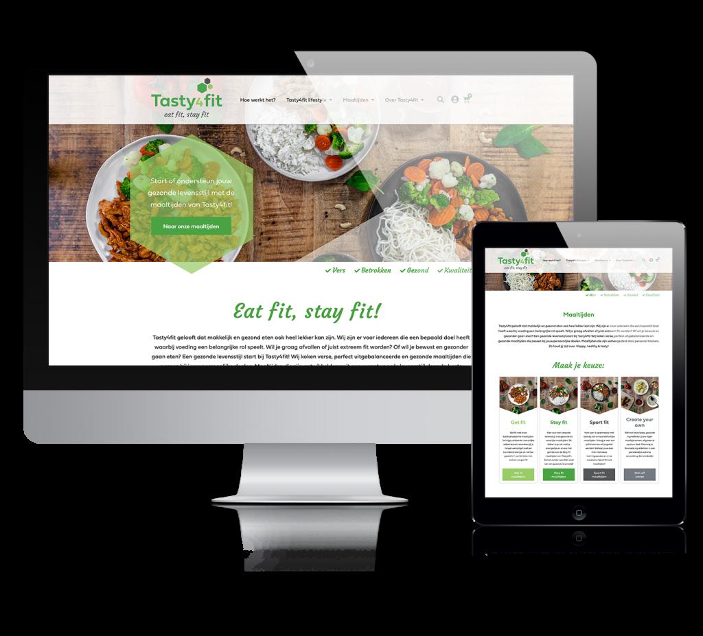 webshop wordpress website ontwikkelen Tasty4fif