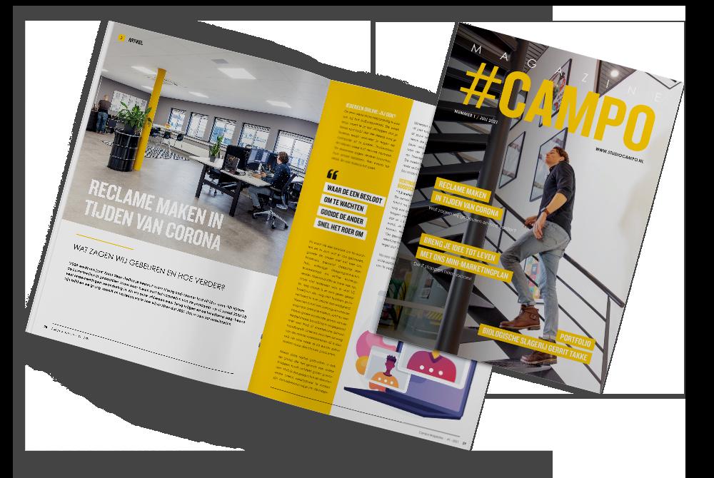 Studio Campo Magazine juli